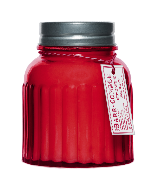 Barr-Co. Berry Apothecary Jar Candle