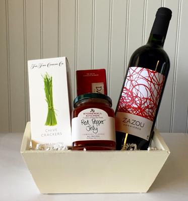 Wine Basket Red Premier