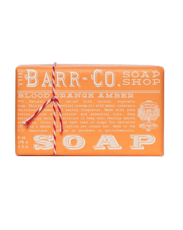 Barr-Co. Blood Orange Shea Butter & Olive Oil Bar Soap