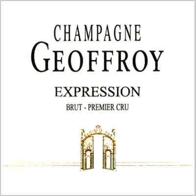 "Champagne Geoffroy ""Expression"" Brut 1er Cru"