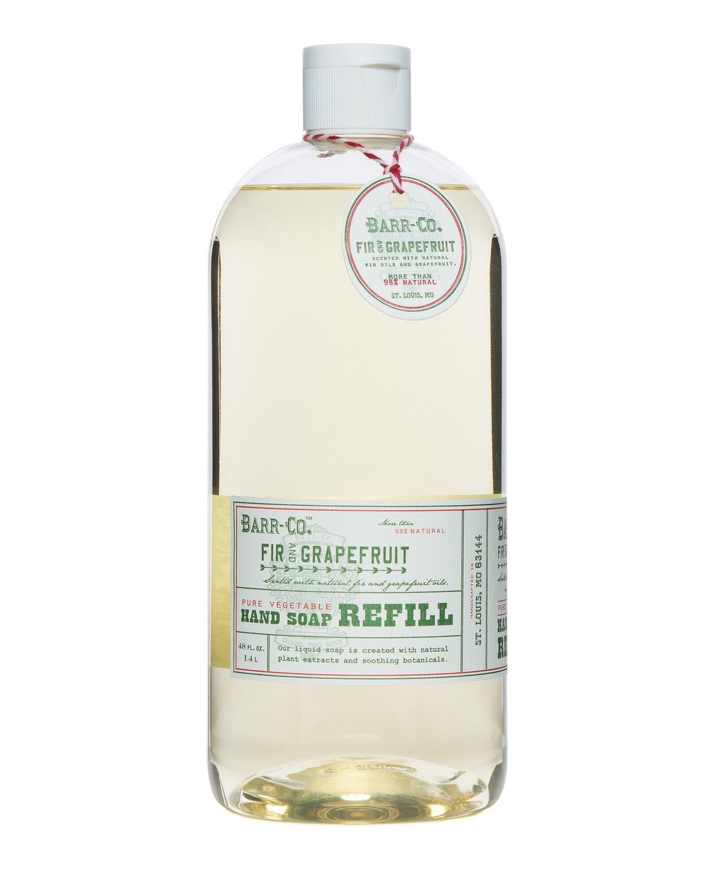 Barr-Co. Fir & Grapefruit Hand Soap Refill