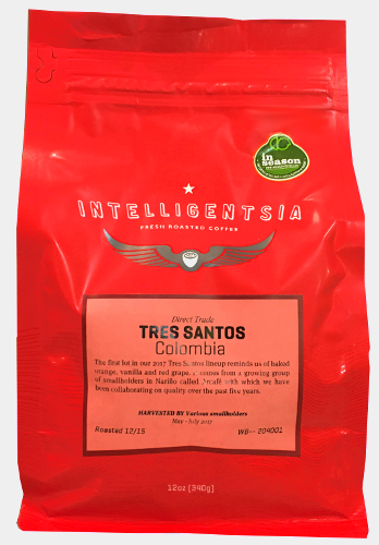 Intelligentsia Tres Santos Colombia