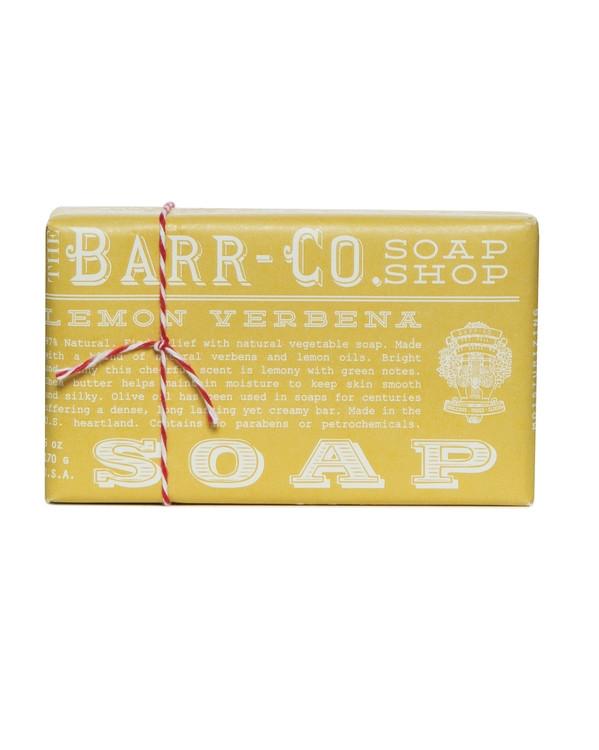 Barr-Co. Lemon Verbena Shea Butter & Olive Oil Bar Soap