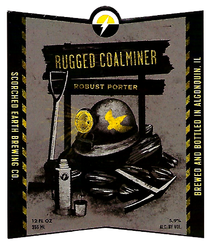 Scorched Earth Rugged Coalminer