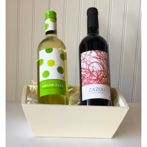 Wine Gift Two Bottle - Red & White Classic