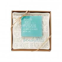 Platter - Beach House Plate & Napkin Set