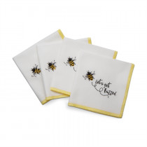 Cocktail Napkins - Get Buzzed (set of 4)