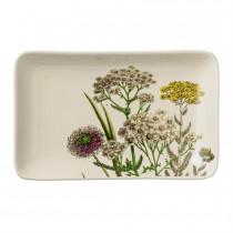 Small Stoneware Botanic Plate