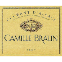 Camille Braun Crement d'Alsace Brut