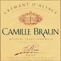 Camille Braun Rose Cremant dAlsace
