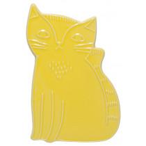 Trivet - Stoneware Cat
