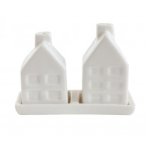 Salt and Pepper Shakers - Houses
