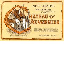 Chateau d'Auvernier Neuchatel Blanc
