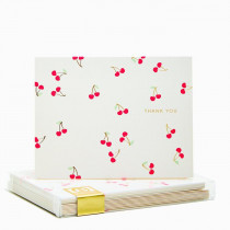 Snow & Graham Thank You Cards - Cherries (set of 8)
