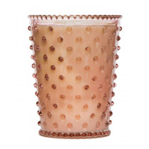 Hobnail Candle - Chestnut (Large)