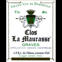 Clos la Maurasse Graves Blanc
