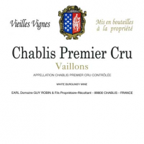 Domaine Guy Robin 1er Cru Chablis Vaillons