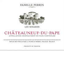 Famille Perrin Les Sinards Chateauneuf du Pape