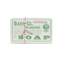 Barr-Co. Fir & Grapefruit Shea Butter & Olive Oil Bar Soap