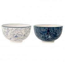 Small Stoneware Fleur Bowl