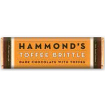 Hammonds' Chocolate Bar - Natural Toffee Brittle