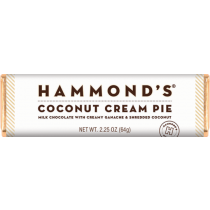 Hammonds' Chocolate Bar - Coconut Cream