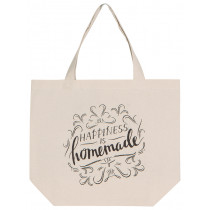 Tote Bag - Happiness is Homemade