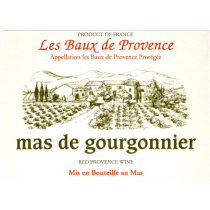 """Mas de Gourgonnier """"les Baux de Provence"""" Rouge"""