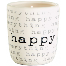 Candle - Happy (Lemon Grass)