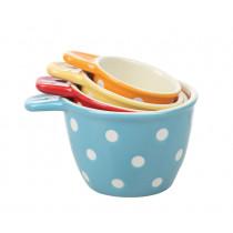 Measuring Cups - Multi-Color Polka Dot