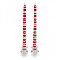 Tapers - Red Multi-Ring (pair)