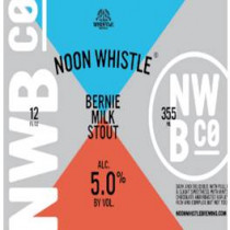 Noon Whistle Brewing - Bernie Milk Stout (6-pack)