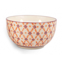 Hand Painted Bowl Candle - Pink Pepper & Pomelo