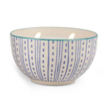 Hand Painted Bowl Candle - Vetiver & Vanilla