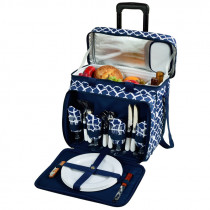 Insulated Picnic Cooler for Four (with wheels)
