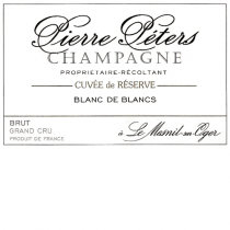 Pierre Peters Grand Cru Cuvee de Reserve