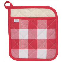 Potholder - Red Check
