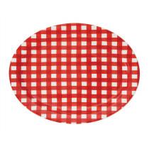 Platter - Red Gingham