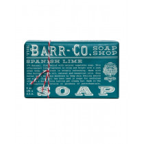 Barr-Co. Spanish Lime Shea Butter & Olive Oil Bar Soap