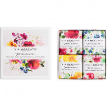 Via Mercato, Spring Flowers Gift Soaps (set of 4)
