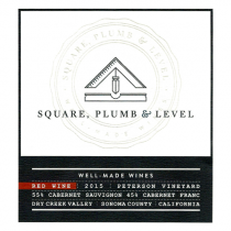 Square Plumb and Level Red Blend