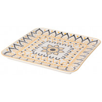 "Platter - Patterned Square (10"")"