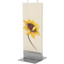 Flat Candle - Sunflower