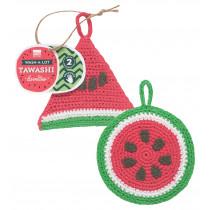 Tawashi Scrubbers - Watermelon